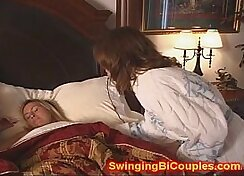 Blonde dad and daughter and sister family sex tape The Blue