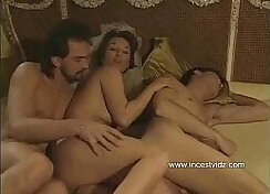 Brunette mom Bala shared with boyfriend in MMF threesome