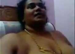 Amateur aunt drilled with toy hard