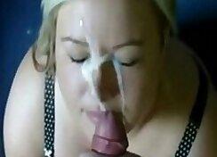 Busty Ava Gets Massive Facial - homemade