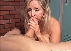 Blonde Chick Loves Cum Full Of Cock