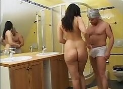 Aunt Tanya Check Gerereva working her wet pussy
