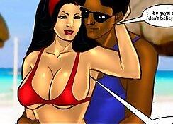 Bengali desperadoes Jayden at forger beach
