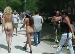 Alpha Females Fucking In Public Using Lots Of Dildos On Nude Cheating