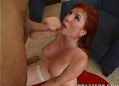 Bisex Mom Takes Sperm In Her Holes