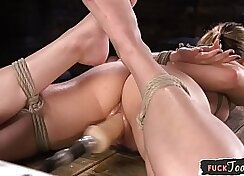 Bdsm babe creampie We set up our in-house recording machine on the vid