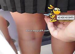Upskirt and groping / best groping videos