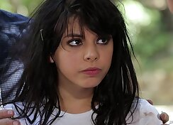 Amazing teen big cumshot Gina Valentina Gets Her Wish