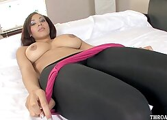 Callie Calypso Deep Throat Cock! - Teaser