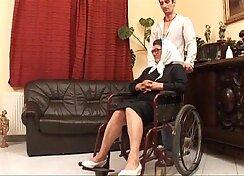 Alyssi grandmother passion watching mature