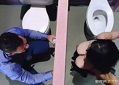 Brazzers - noelle easton love bathroom gloryholes