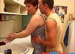 Bbw blonde mom homemade having sex