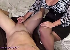 Big boobs MILF gets her milk contractions spoiled View